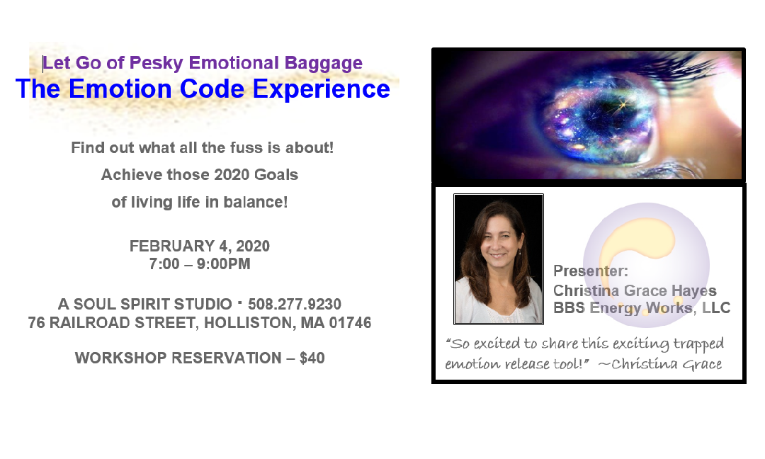 THE EMOTION CODE EXPERIENCE